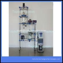 Controlador automático-Reactor ultrasónico continuo