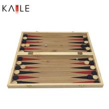 Jeu d'Echecs en Bois 3 en 1 Échiquier de Backgammon Fabricant