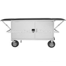 hospital stretcher trolley for emergency epoxy powder coated