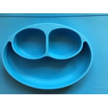 Baby proof silicone table mat bowl