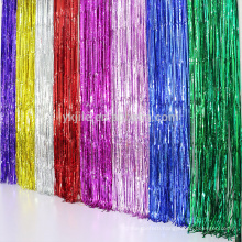 Popular Decoration Customized Size Foil String Curtain with Various Kinds of Color