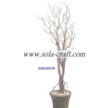 95CM Gold Wedding Potted Tree For Invitation