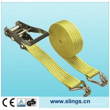 SLN RS12 Ratchet Strap with Hooks