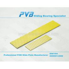 SF-2Y Oilless Wear Plate,PCMS2005003.06M DX Composite Slide Plate,Maintenance Free POM Slide Plate