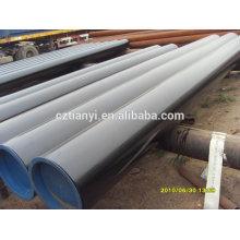 Galvanisation à chaud ASTM A106 sch40 LSAW Steel Pipe