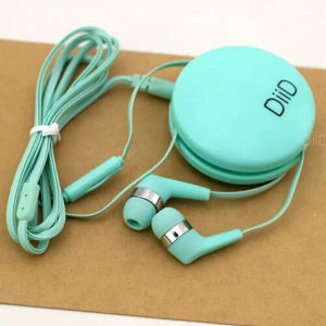 Retractable Earphones for Mobile Phone Computer