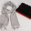 2015 new fashion solid mens 100% cashmere scarf