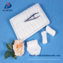 100% cotton terry tray disposable airline towel Airline refreshing hot towels 100% cotton disposable lemon scented for airplane aviation use
