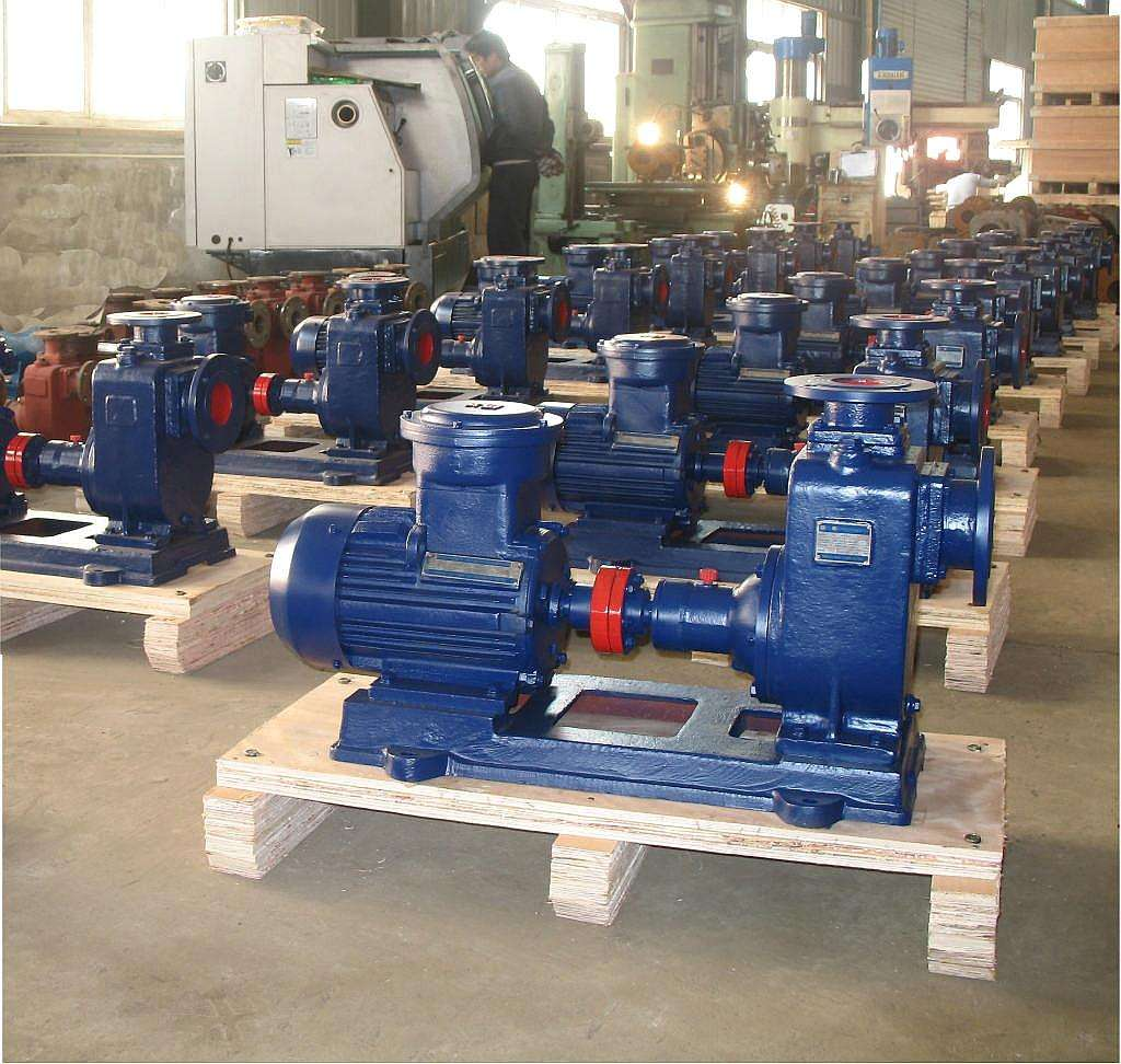 CYZ-A type explosion-proof self-priming centrifugal pump 4