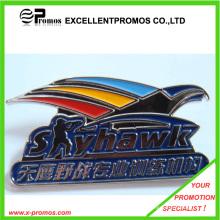 Рекламный подгонянный цвет выгравированный металл значок
