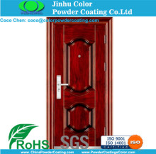 electrostatic spray powder paints for Security windows and doors