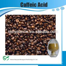 Fuente del precio del fabricante Extracto de la planta ácido cafeico puro