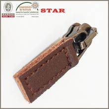 Leder Zipper zieht für beliebten fertigen Reißverschluss