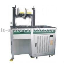 Dual-head & dual-source final-bombeado diodo laser marcação máquina
