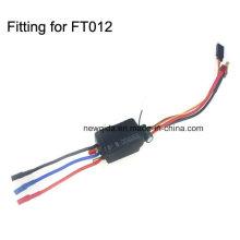 Controlador electrónico de velocidad 3 en 1 ESC para embarcaciones FT012 sin escobillas