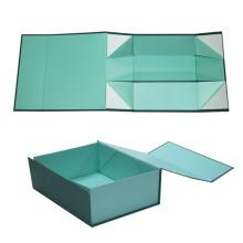 Caja de papel de regalo de lujo