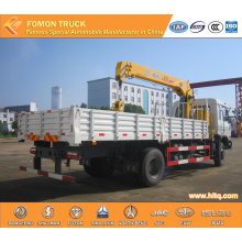 Dongfeng 4*2 truck mounted crane 5tons