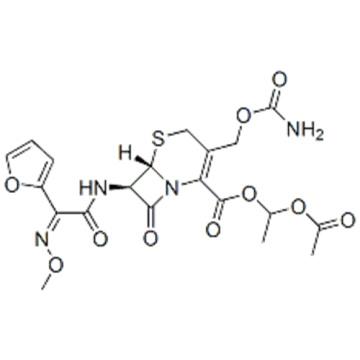 Cefuroxime 1-acetoxyethyl ester CAS 64544-07-6
