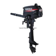 Hangkai 4.0HP Motor Fora de Bordo 2 tempos Motor Barco Resfriamento de Água