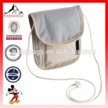 Pasaporte Travel Bag Security Collar Hidden Wallet Pouch Money Belt Bag Pouch (ESX-LB209)