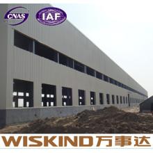 Edificio de estructura de acero de EPS Panel con pared y material de techo
