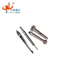 bimetallic injection screw barrel / Haitian injection screw/plastic machine