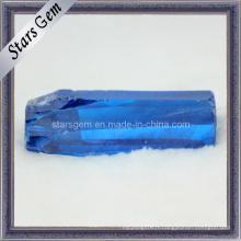 Ocean Blue CZ Rough / Raw Material, Zircon cubique rugueux