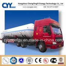 Neue LNG Liquid Oxygen Stickstoff Tank Car Semi Trailer mit ASME GB