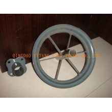 metal rim for rubber wheels,wheelbarrow wheels,trolley wheel,hand truck wheel