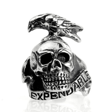 Domineering punk rock men's index finger jewelry