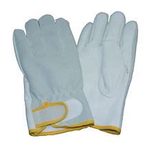 Pig Grain Driving Glove, Split Back Velcro Cuff Glove