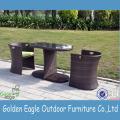 Chaise de loisirs de jardin en rotin SGS PE populaire