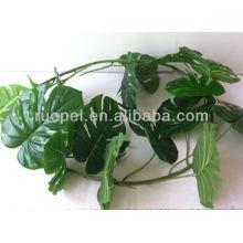 2014 hojas de árbol plam decorativas baratas hechas en China