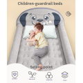 Inflatable Toddler Travel Bed with Safety Bumpers patent