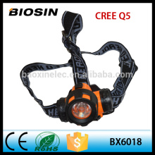 Outdoor camping fishing lamp AAA battery low price plastic headlamp