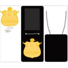 Заводской Значок Поставить Кожаный Бумажник (XYmxl110402)