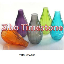 Vases en verre à base de vigne à la vente chaude