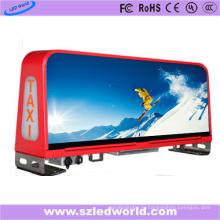 По P5 полноцветный такси Топ светодиодный дисплей рекламный щит для наружной рекламы