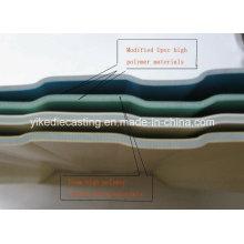 Le meilleur matériau de toiture UPVC d'isolation thermique de 3 couches