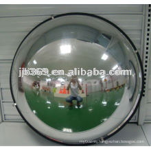 50cm 1/4 dome mirror, 90 degree acrylic safety dome mirror