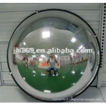 Espelho da abóbada de 50cm 1/4, espelho acrílico da abóbada da segurança de 90 graus