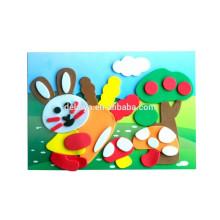 Развивающие игрушки EVA пены стикер головоломка ремесло комплект для детей