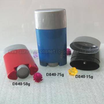 15g 50g 75g forme ovale Stick déodorant bouteille