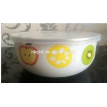 5 pc custom fruit ice bowl & enamel coating bowl wholesale
