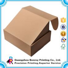 Großhandelskundenspezifischer gebrandeter Name billige einfache Pappschuh-Kästen