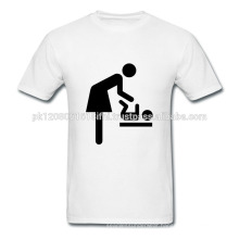 custom make your own cotton t shirt with logo and design
