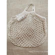 Bolsa de malla de red de algodón para alimentos