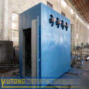 hot air circulating drying oven in baking varnish