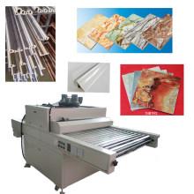 TM-UV-Dp Placas decorativas Madera Muebles Madera dura UV Curado de la máquina