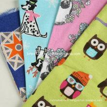 Tissu 100% coton flanelle pour pyjamas imprimé imprimé (C20X10 / 40X42)